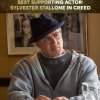 Best Supporting Actor: Sylvester Stallone in Creed