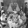 The Meisler, Forkash & Cash Clan Welcoming a Sweet New Year, North Massapequa, NY, Rosh Hashanah, September 1974