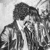 Kissing in Black Leather Jackets During last Dead Boys Concert CBGB, New York, NY April 1977