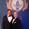 Richard Blanco and Sergio Baradat at the White House