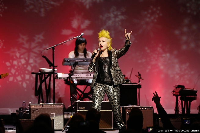 Cyndi Lauper True Colors United