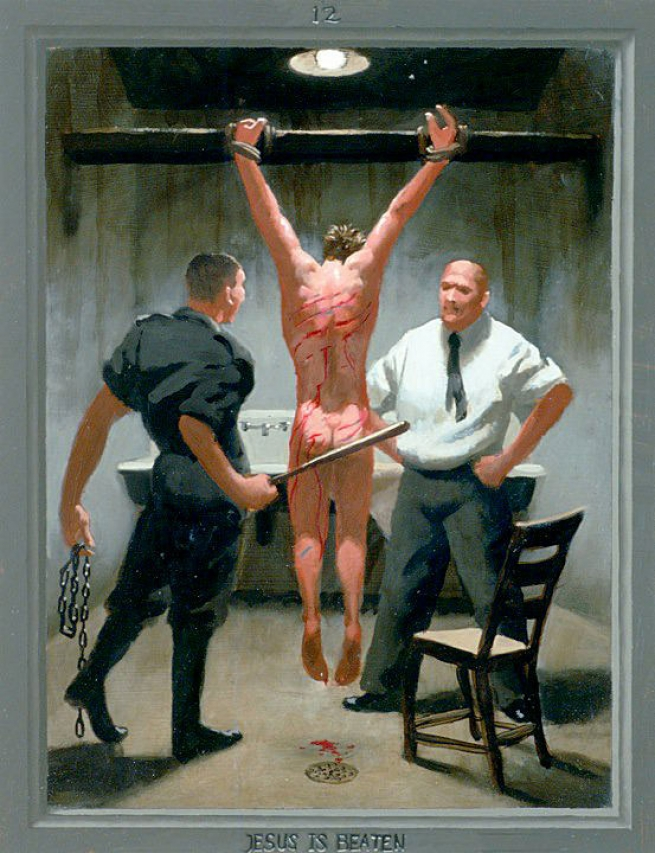 12. Jesus Is Beaten