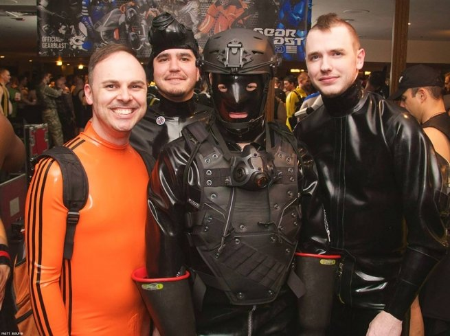 Leather male gay