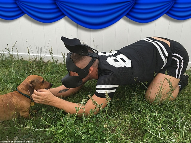 7. Pup and Handler