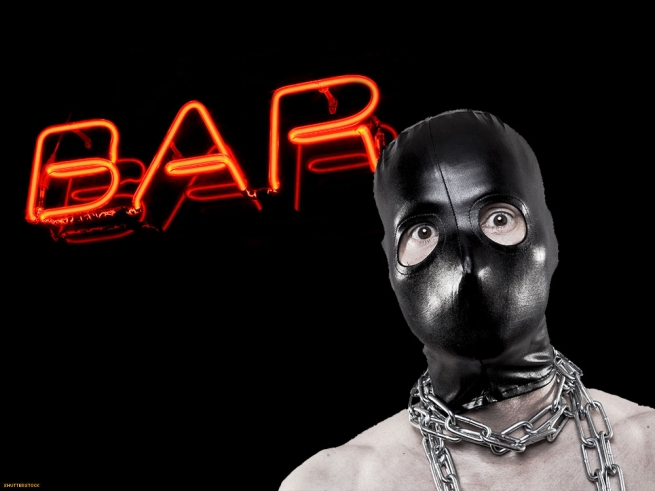 10. Go to the nearest leather bar in full gear.