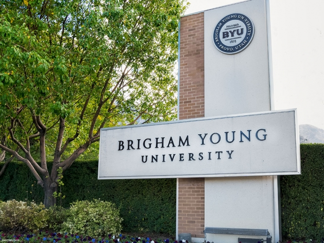 4. Brigham Young University (a Mormon private research university in Provo, Utah)