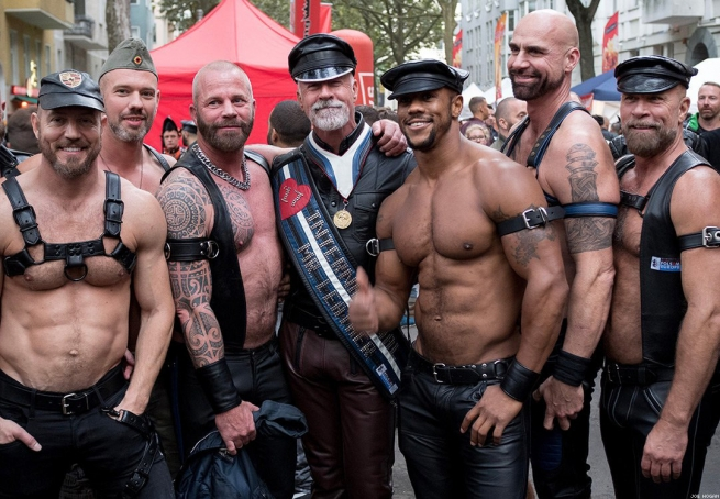 8. The leather community was among the first to organize against AIDS.