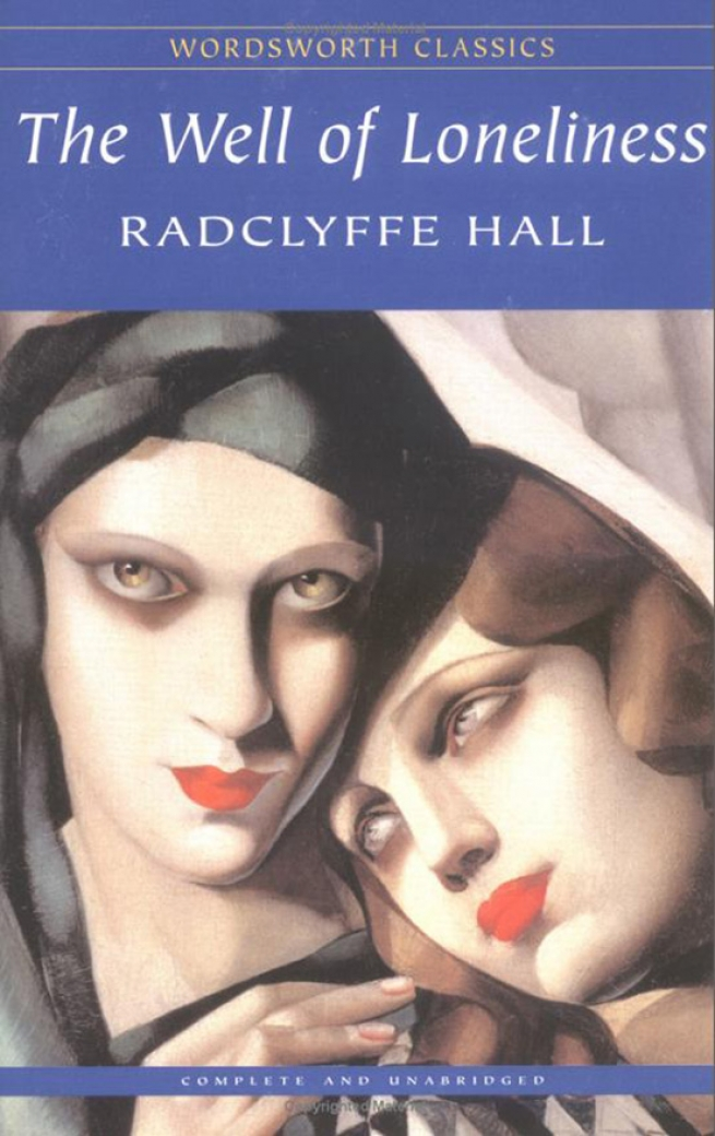 17. Well of Loneliness, by Radclyffe Hall
