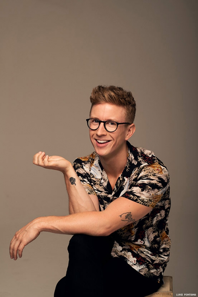 BTS of Our Cover Story With Tyler Oakley