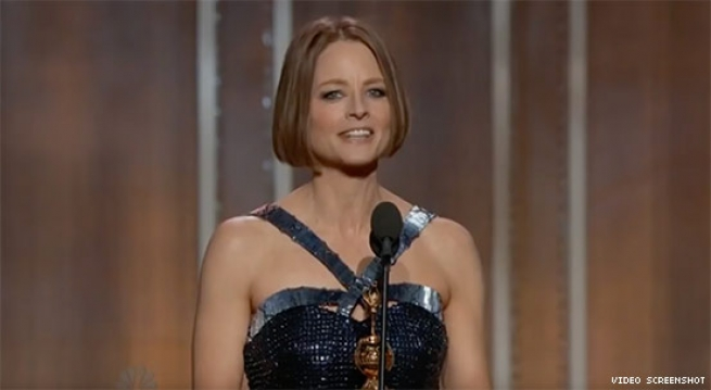 Jodie Foster Comes Out in 2012 Cecile B. Demille Award Acceptance Speech