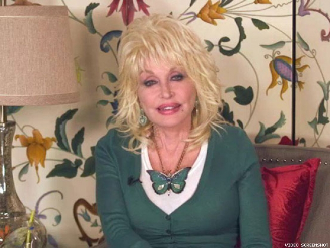 Dolly stood up for marriage equality.