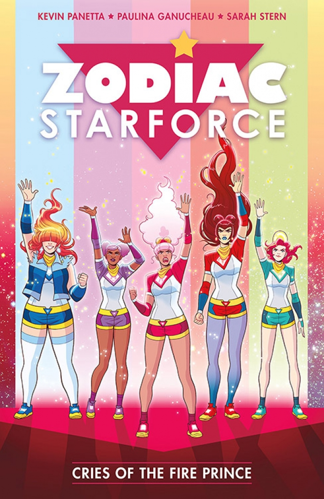 In Zodiac Starforce Volume 2: Cries of The Fire Prince