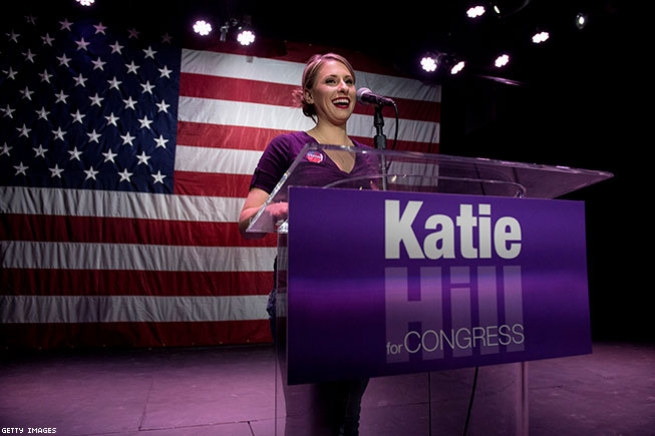 Katie Hill (D-California, 25th District)