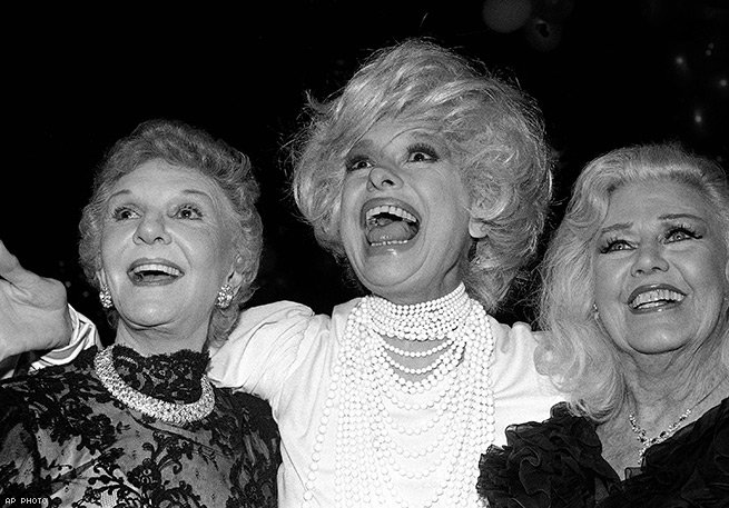 With Mary Martin and Ginger Rogers