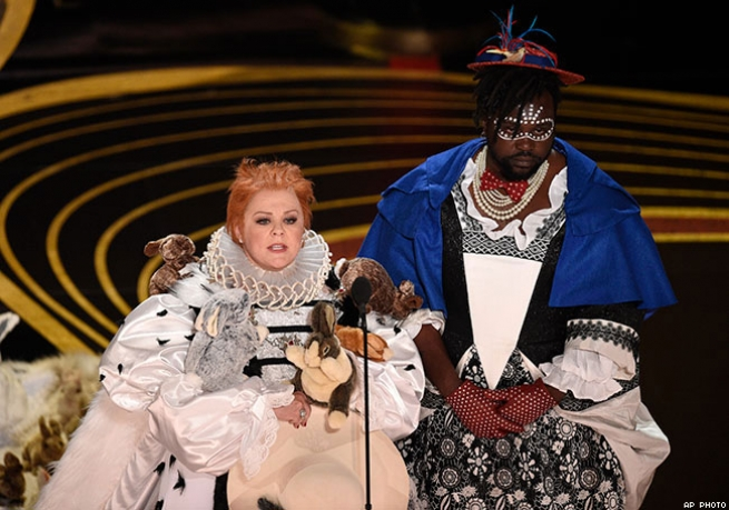 Melissa McCarthy and Brian Tyree Henry's Costume Craziness