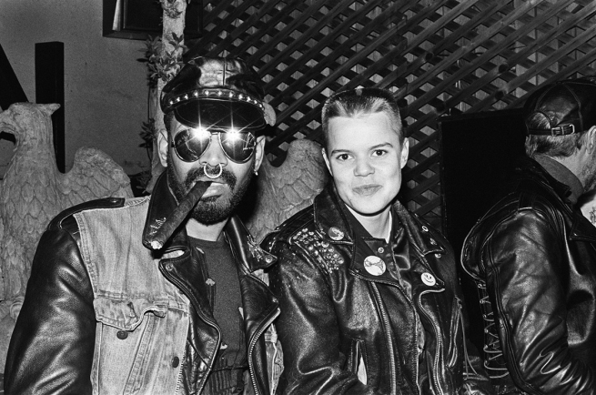 Leather Duo at the Eagle (1989).