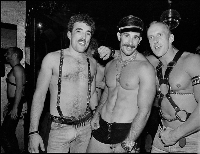 Trio at a Leather Party (1990)