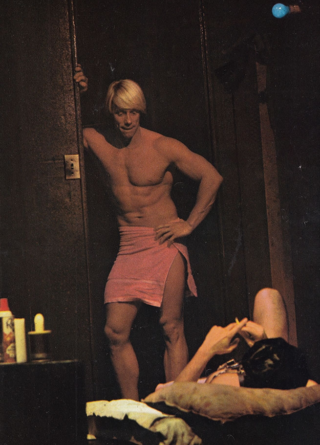 Dean Tait (Dusty) Off-Broadway (1973). Photographer: unknown.