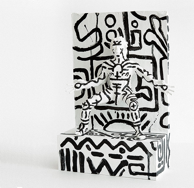 Keith Haring-inspired art