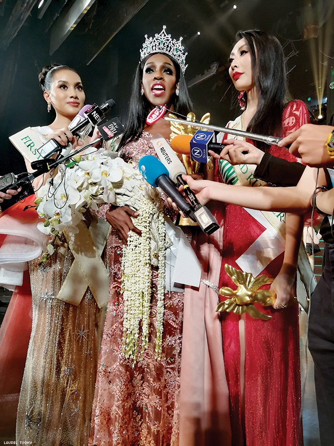 Trans Beauty Pageant Crowns First Woman of African Heritage
