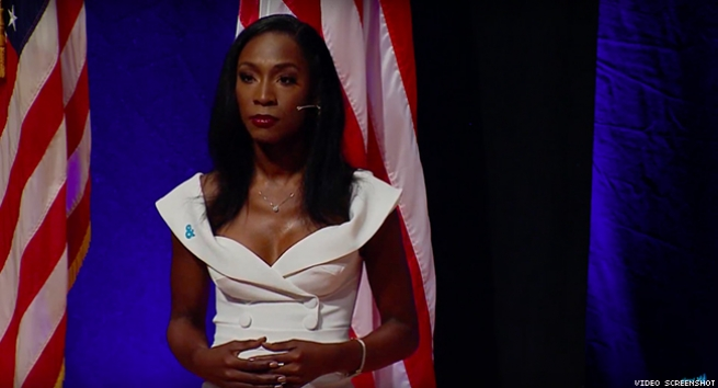 Angelica Ross made history as host and spoke truth to power.
