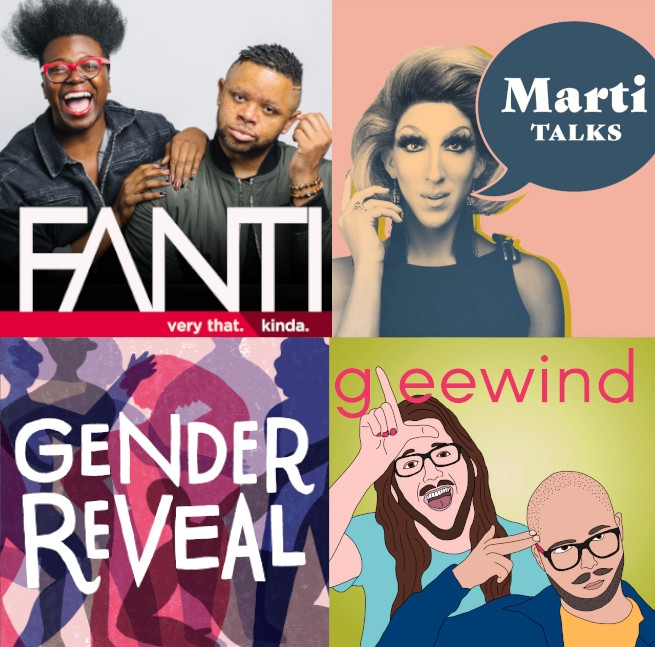 5 New LGBTQ Podcasts To Help You Escape—As Much As Possible