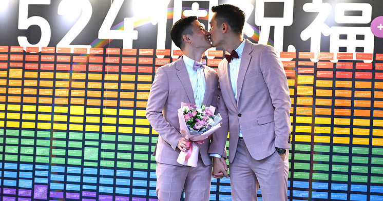 Marriage equality in Taiwan