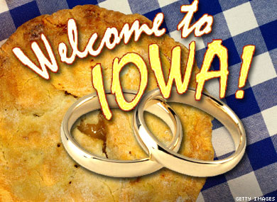 Iowa Gay Marriage:     American as Apple Pie