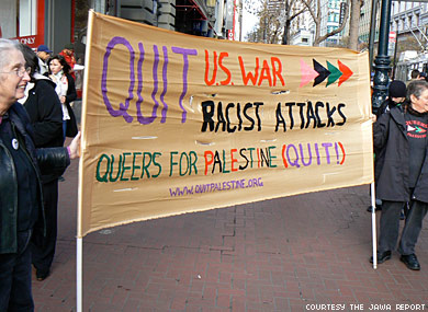 Queers for             Palestine?