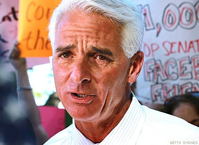 Crist to Expand Support for Gay Rights