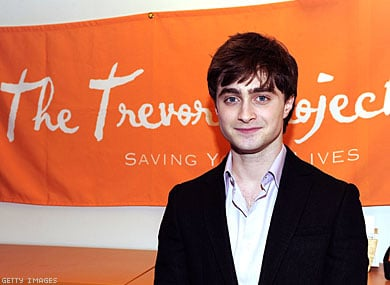 Daniel Radcliffe to be Honored by Trevor Project