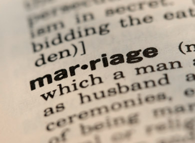The Semantics of Marriage Equality