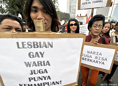 Gay Conference Attendees Raided in Indonesia