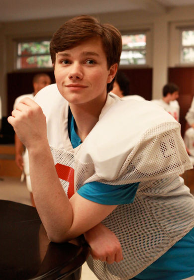 Glees Chris Colfer: Just One of the Guys