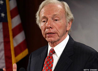 Lieberman Introduces DADT Repeal Bill