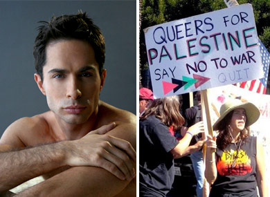 Michael Lucas on Queers for Palestine?