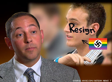 State Official Bullies College Student