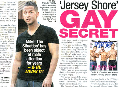 The Situation Loves His Gay Following