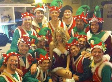 LeAnn Rimes and The Gay Men's Chorus Celebrate Xmas