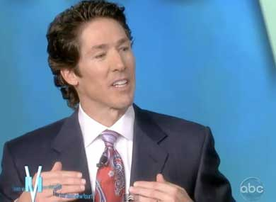 Osteen Tries to Clarify Antigay Remarks