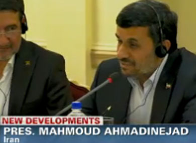Ahmadinejad Acknowledges Possibility of Gay People in Iran