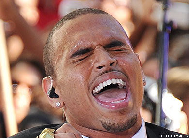 """Chris Brown Says He's the Victim of a Made-up """"Homophobic Story"""""""