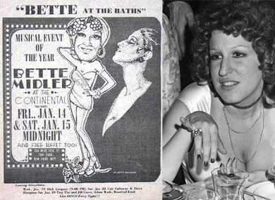 Will Bette Midler Talk About the Continental Baths?
