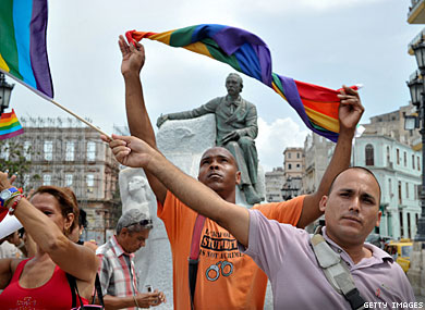 Small But Significant Cuban Pride March