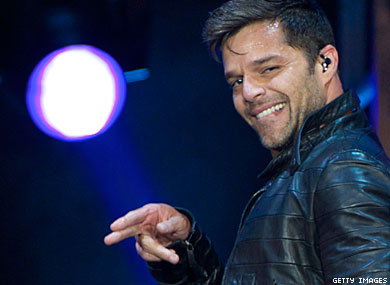 Ricky Martin Talks About First Secret Lover and Current Boyfriend