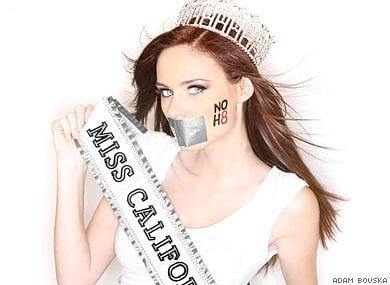 Miss USA on Gay Marriage