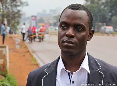 Ugandan Gay Activist to Receive RFK Human Rights Award