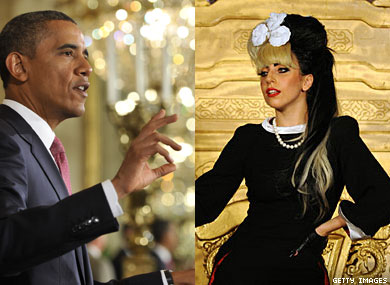 Lady Gaga Talks to President Obama About Bullying