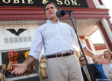 Question After Question, Mitt Romney Pressed on Marriage