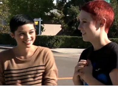 Lesbian H.S. Couple Crowned at Homecoming